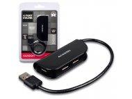 AXAGON USB HUB 4xUSB2.0 Black