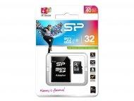 SILICON POWER Memorijska kartica MicroSDHC 32GB 5905 U1 + SD adapter C10
