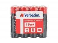 VERBATIM Alkalne baterije AA LR6 Verbatim 4 komada