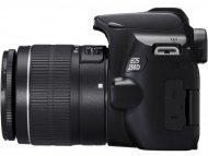 CANON EOS 250D+18-55mm (crni)