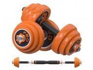 XIAOMI Fed set tegova od 15kg narandžasti (tegovi+šipka) FED-8007