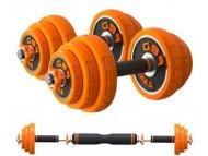 XIAOMI Fed set tegova od 30kg narandžasti (tegovi+šipka) FED-8007