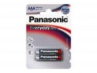 PANASONIC Baterije LR03EPS/2BP - AAA 2kom Alkalne Everyday