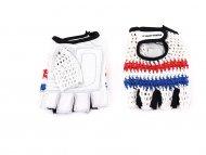 CAPRIOLO Sportske rukavice  - retro crochet dizajn xl bele 185121