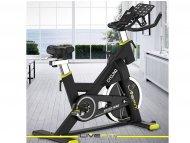 LiveFit Sobni bicikl, zamajac 6kg, crni LM-806