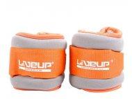 LiveUp Tegovi za noge i ruke sa čičkom 2x0.5kg, likra - LS3049